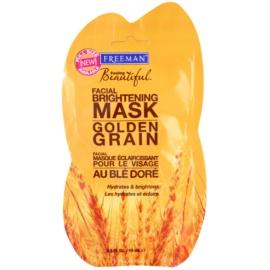 Freeman Feeling Beautiful mascarilla exfoliante iluminadora Golden Grain  15 ml