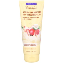 Freeman Feeling Beautiful Clay Facial Mask for All Skin Types Apple Cider Vinegar  175 ml