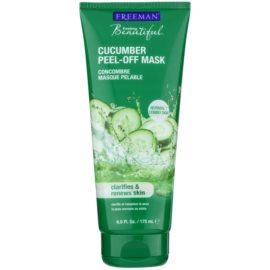 Freeman Feeling Beautiful slupovací pleťová maska pro unavenou pleť Cucumber  175 ml