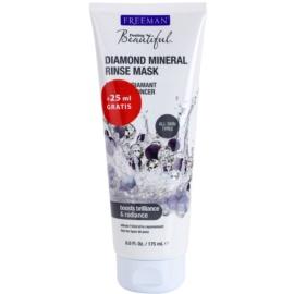 Freeman Feeling Beautiful pleťová maska pre mastnú pleť Diamond Mineral  175 ml