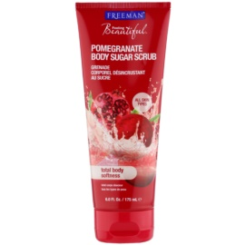 Freeman Feeling Beautiful Bodypeeling mit Rohrzucker Pomegranate 175 ml