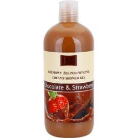 Fresh Juice Chocolate & Strawberry krémový sprchový gel  500 ml