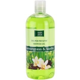 Fresh Juice Lemongrass & Vanilla sprchový gél  500 ml