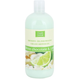 Fresh Juice White Chocolate & Lime krémes tusoló gél  500 ml