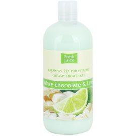 Fresh Juice White Chocolate & Lime krémový sprchový gel  500 ml