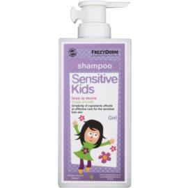 Frezyderm Sensitive Kids For Girls champú para el cuero cabelludo sensible e irritado  200 ml