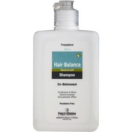 Frezyderm Hair Balance gyengéd sampon a fejbőr ápolására a bőrgyógyászati kezelések között  200 ml