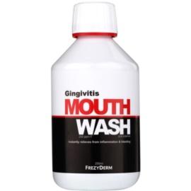 Frezyderm Oral Science Gingivitis płyn do płukania jamy ustnej przeciw stanom zapalnym i krwawieniu dziąseł  250 ml