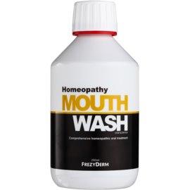 Frezyderm Oral Science Homeopathy ustna voda za popolno zaščito zob brez fluorida  250 ml