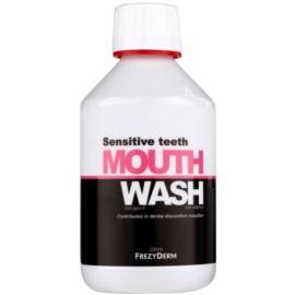 Frezyderm Oral Science Sensitive Teeth ústní voda pro kompletní ochranu zubů  250 ml