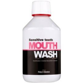 Frezyderm Oral Science Sensitive Teeth płyn do płukania jamy ustnej dla pełnej ochrony zębów  250 ml