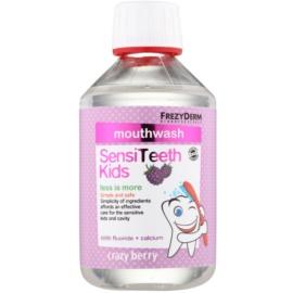 Frezyderm SensiTeeth Kids ústní voda pro děti s příchutí lesních plodů  250 ml