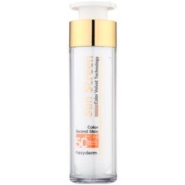 Frezyderm Sun Care tónovaný ochranný krém na obličej SPF50+ voděodolný  50 ml
