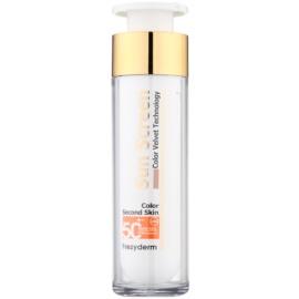 Frezyderm Sun Care getönte Schutzcreme für das Gesicht SPF 50+ wasserbeständiger  50 ml