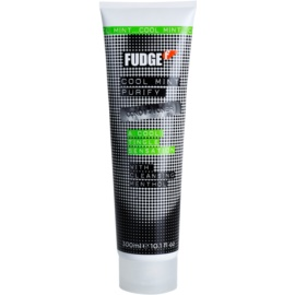 Fudge Cool Mint Purify acondicionador hidratante  con efecto frío   300 ml