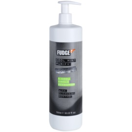 Fudge Cool Mint Purify acondicionador hidratante  con efecto frío   1000 ml