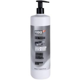 Fudge Detox hloubkově čisticí šampon s hydratačním účinkem  1000 ml
