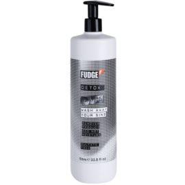Fudge Detox mélyen tisztító sampon hidratáló hatással  1000 ml