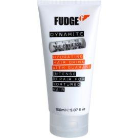 Fudge Dynamite máscara regeneradora e hidratante para cabelo muito danificado  150 ml