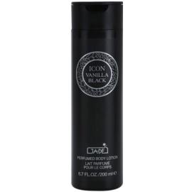 GA-DE Icon Vanilla Black tělové mléko pro ženy 200 ml