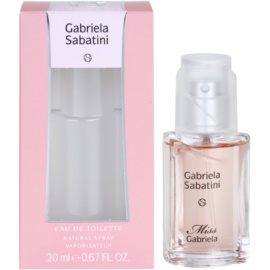 Gabriela Sabatini Miss Gabriela eau de toilette nőknek 20 ml