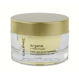 Galénic Argane Feuchtigkeitsspendende Nachtcreme mit ernährender Wirkung für trockene bis sehr trockene Haut  50 ml