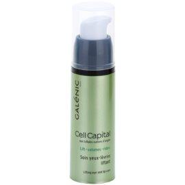 Galénic Cell Capital cuidado lifting para contornos dos olhos e lábios  15 ml