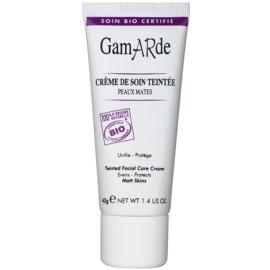 Gamarde Corrective Care creme hidratante com cor  tom Dark  40 g