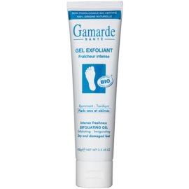 Gamarde Foot Care Dry Feet frissítő és bőrlágyító peelinges gél a száraz és repedezett lábakra  100 g