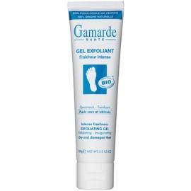 Gamarde Foot Care Dry Feet osviežujúci a zmäkčujúci peelingový gél na suché a zrohovatené chodidlá  100 g