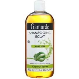 Gamarde Hair Care šampon pro lesk a hebkost vlasů aloe vera  500 ml