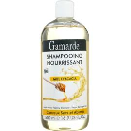 Gamarde Hair Care поживний шампунь для сухого або пошкодженого волосся акацієвий мед  500 мл
