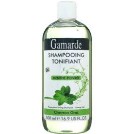 Gamarde Hair Care шампунь для жирного волосся м'ята перцева  500 мл