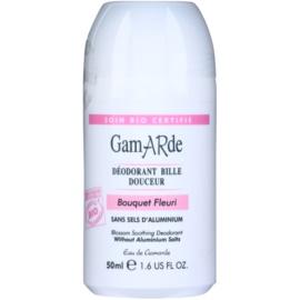 Gamarde Hygiene desodorante roll-on calmante con aroma de flores   50 ml