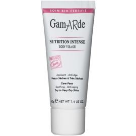 Gamarde Nutrition Intense intenzív és tápláló ráncok elleni krém száraz és nagyon száraz bőrre  40 g