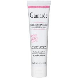 Gamarde Nutrition Intense intenzív regeneráló krém kézre és lábra Száraz, nagyon száraz bőrre  100 g