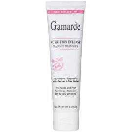Gamarde Nutrition Intense intenzivna regeneracijska krema za roke in noge za suho do zelo suho kožo  100 g