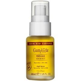 Gamarde Anti-Ageing hranilni nočni serum proti gubam za obraz, vrat in dekolte  30 ml