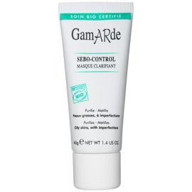 Gamarde Sebo-Control mascarilla limpiadora para reducir el exceso de sebo y suavizar poros  40 g
