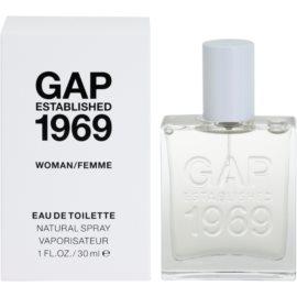 Gap Gap Established 1969 for Woman eau de toilette nőknek 30 ml