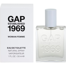Gap Gap Established 1969 for Woman Eau de Toilette für Damen 30 ml
