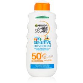 Garnier Ambre Solaire Resisto Kids zaščitni losjon za otroke SPF 50+  200 ml