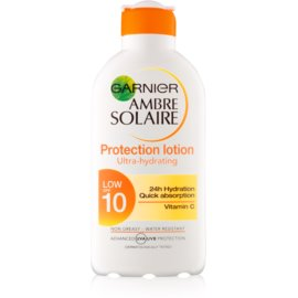 Garnier Ambre Solaire losjon za sončenje SPF 10  200 ml