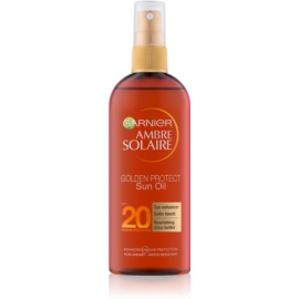 Garnier Ambre Solaire Golden Protect Sun Oil SPF 20  150 ml