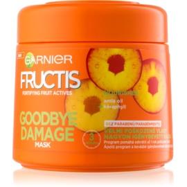 Garnier Fructis Damage Repair Versterkende Masker  voor Sterk Beschadigd Haar   300 ml