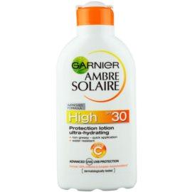 Garnier Ambre Solaire Zonnebrandmelk  SPF 30  200 ml