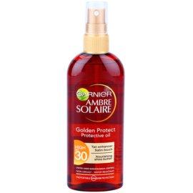 Garnier Ambre Solaire Golden Protect ulei pentru plaja SPF 30  150 ml