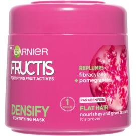 Garnier Fructis Densify mascarilla nutritiva para cabello para dar volumen  300 ml