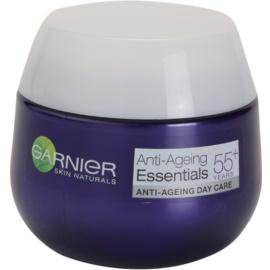 Garnier Essentials denní protivráskový krém 55+  50 ml