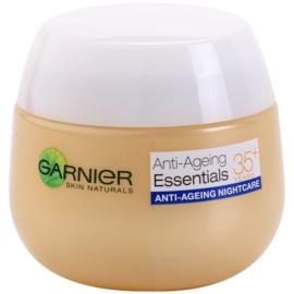Garnier Essentials multi-aktywny krem na noc przeciw zmarszczkom 35+  50 ml